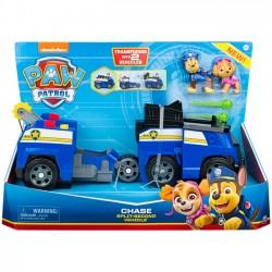Pojazd 2w1 Psi Patrol z Wyrzutnią Chase i Skye