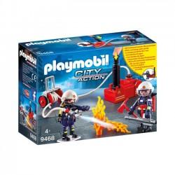 Playmobil - Strażacy z gaśnicą