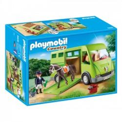 Playmobil - Pojazd do przewozu koni
