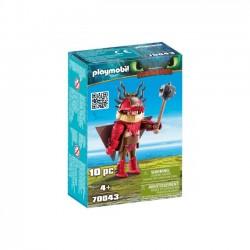 Playmobil - Sączysmark w zbroi do latania
