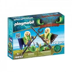 Playmobil - Mieczyk i Szpada w zbroi to latania