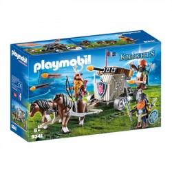 Playmobil - Zaprzęg kucyków z balistą krasnoludów