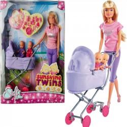 Simba Steffi Love Steffi Z Głębokim Wózkiem W Spódnicy