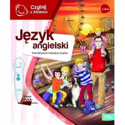 Albi Czytaj z Albikiem Interaktywna Książka Język Angielski