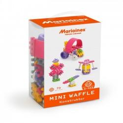 Klocki konstruktor Mini Waffle dla dziewczynki 70 elementów