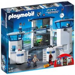 Komisariat policji z więzieniem