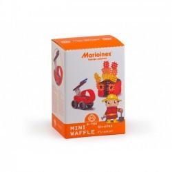 klocki wafle mini strażak