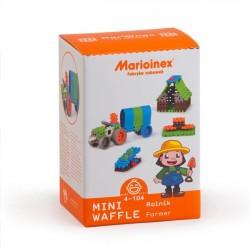 klocki wafle mini rolnik