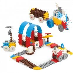 mini wafle 140 elementów konstruktor chłopak