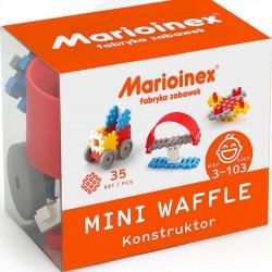 mini wafle 35 elementów konstruktor chlopak