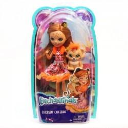 Mattel Lalka Enchantimals Cherish Cheetah
