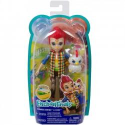 Mattel Lalka Enchantimals + zwierzątko dodatkowe Kogut