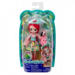 Mattel Lalka Enchantimals Fanci Flaming + Swash