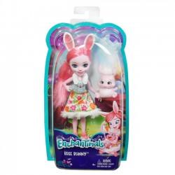 Mattel Lalka Enchantimals + Zwierzątko, Bree Bunny