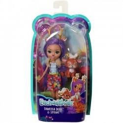 Mattel Lalka Enchantimals + Zwierzątko, Deer