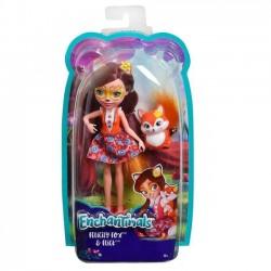 Mattel Lalka Enchantimals + Zwierzątko, Felicity Fox