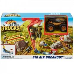 Rekman Nowości Zestaw Monster Trucks Kaskaders i skok   Hot Wheels Zestaw Monster Trucks Kaskaders i skok