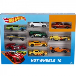 Hot Wheels Pojazdy Dziesięciopak