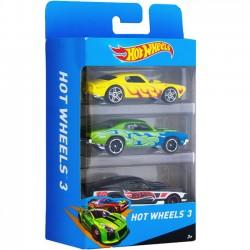 Hot Wheels Zestaw trzech samochodów