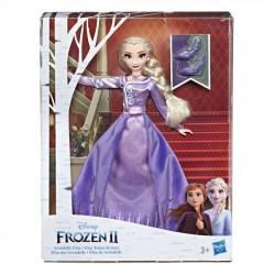 Hasbro Lalka w sukni Deluxe, Elsa Kraina Lodu 2