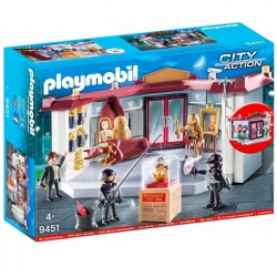 PLAYMOBIL 9451 NAPAD NA MUZEUM - CITY ACTION