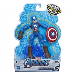 Hasbro Figurka Avengers Band and Flex Captain America