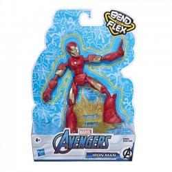 Hasbro Figurka Avengers Band and Flex Iron Man