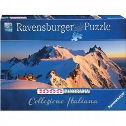 Puzzle 1000 elementów. Włochy, Monte Bianco