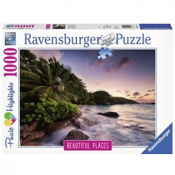 Ravensburger Puzzle Wyspa Praslin 1000El.