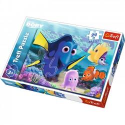 Podwodni przyjaciele - Puzzle Maxi