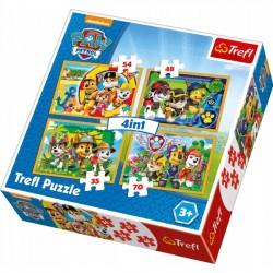 Puzzle 4w1 Zawsze na czas