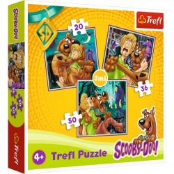 Puzzle 3w1 Scooby Doo