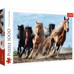 Puzzle 1000 Galopujące konie