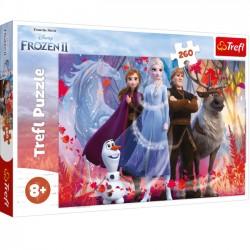 Trefl Puzzle 260 elementów Frozen 2 - W poszukiwaniu przygód