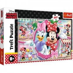 Trefl Puzzle 260 elementów Wesoły Dzień Minnie