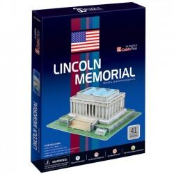 Cubicfun Puzzle 3D Lincoln 41 elementów