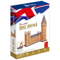 Cubicfun Puzzle 3D Zegar Big Ben duży zestaw