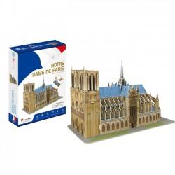 Cubicfun Puzzle 3D Katedra Notre Dame