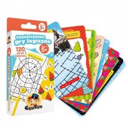 CzuCzu GRA  Fantastyczne Gry Logiczne dla Dzieci 5+ (039539)