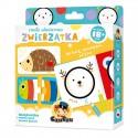 CzuCzu  Mała Akademia Puzzle  Zwierzątka dla Dzieci 18 miesięcy