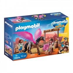PLAYMOBIL: THE MOVIE Marla, Dell i skrzydlaty koń
