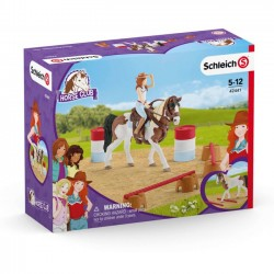 Schleich Zestaw figurek Western Riding set