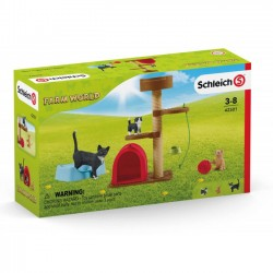 Schleich Zestaw figurek Playtime for cute Cats