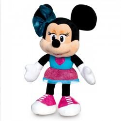 Tm Toys Maskotka Minnie w niebiesko różowym stroju 25 cm