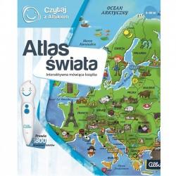 Czytaj z Albikiem. Interaktywna książka Atlas świata