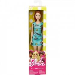Barbie. Szykowna Barbie zielona sukienka