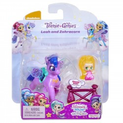 Fisher Price Figurki Shimmer i Shine, Leah i Pędzorożec