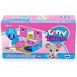 TM Toys Tiny Tukkins - Zestaw Myszki w Pokoju drzemek
