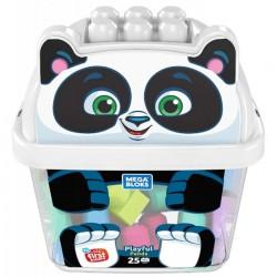Mega Bloks Pojemnik z klockami Panda