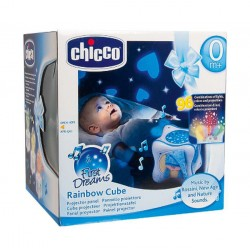Chicco Tęczowa kostka niebieska